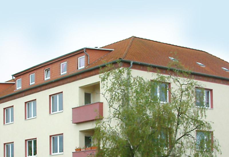 Immobilie im Bauhausstil in der Fritz-Reuter-Straße in Magdeburg