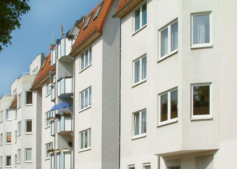 Moderner Neubau in der Liebermannstraße in Magdeburg