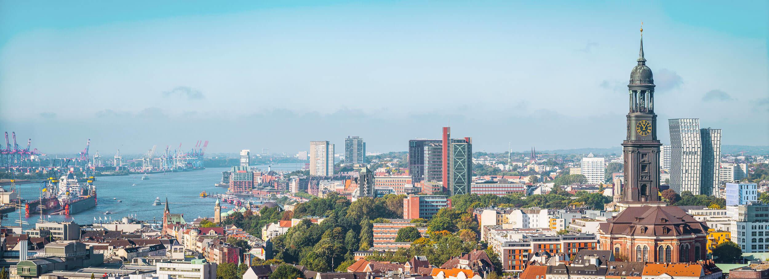 Hamburg Skyline, Foto: fotoVoyager, istockphoto.com